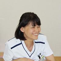白波瀬 道子(緩和ケア認定看護師)の画像