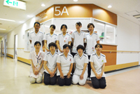 5A病棟 【内分泌内科・消化器内科・泌尿器科・耳鼻咽喉科・皮膚科】の画像